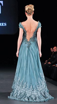 Jean Fares Couture - Fall 2008 by bnittoli Evening Dresses, Prom Dresses, Formal Dresses, Dresses 2016, Beautiful Gowns, Beautiful Outfits, Pretty Outfits, Pretty Dresses, Glamour