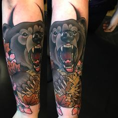 From the other day, Love a bear  wraps a lot so hard to photo - thank you Sarah!