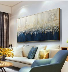 Large Abstract Oil Painting Original art,Gold Leaf Silver Leaf fall painting,Wall Decor Bedroom Above bed,Textured Painting by Julia Kotenko Große Abstract Ölmalerei Originalkunst Gold Leaf Silberblatt Autumn Painting, Blue Painting, Oil Painting Abstract, Texture Painting, Fall Paintings, Large Abstract Wall Art, Silver Leaf Painting, Human Painting, Summer Painting