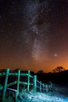 Kirk Norbury, 21, took the snaps deep in the Galloway forest, home to Scotland's first 'dark skies' park where observers can see the sky free from light pollution.
