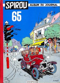 Spirou, Album du Journal n°65, 1958.