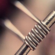 clapton parallel coils are deff one of my favorites to make and vape! they are also a hott item on my website, which makes me happy!! I hope you enjoy your cloudy coils and make sure to keep vaping! #quitthecigs #startvaping #behealthy #cloudycoils #cloudchaser #cleanbuilds #claptoncoil #BuildLyfe #VapeFam #VapeLyfe #vapeohn