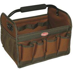 Bucket Boss Gatemouth Hard Tote Tool Bag