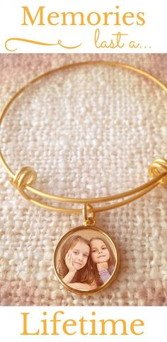 Mother's Day is just around the corner. The perfect gift? Our expandable photo engraved charm bracelet. It's sure to put a smile on Mom's face.  Since it can hold  more than one charm, add photo charms of all the children.  Now that's a unique idea. The bracelet is available in gold & silver tone.  #mothersday #mothersdaygifts #mom #giftsforher