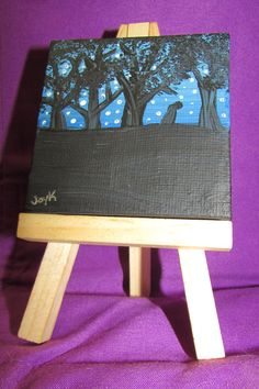 Mini Canvas - Wandering Soul by FerretJAcK on DeviantArt Art Cards, Mini Canvas, Mini Paintings, Deviantart