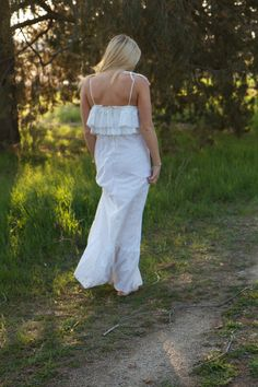 1970s Vintage Wedding Dress  Frances by DaughtersOfSimone on Etsy, $235.00