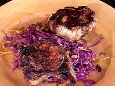 Chili Marinated Double-Cut Pork Chops