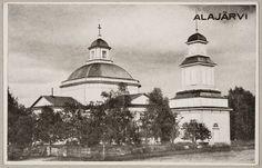 Tuntematon, 1930: Alajärven kirkko ja kellotapuli (Alajärvi, Museovirasto) Taj Mahal, Building, Travel, Viajes, Buildings, Destinations, Traveling, Trips, Architectural Engineering