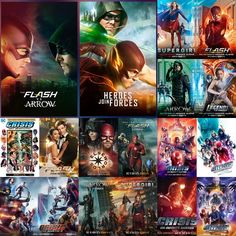 Dc Comics Series, Infinite Earths, Superhero, Movies, Movie Posters, Films, Film Poster, Popcorn Posters, Superheroes
