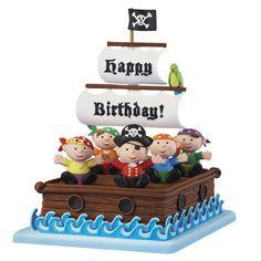 Birthday on the Bounty Cake