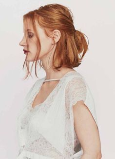 """filmhall: """" Jessica Chastain, photographed by Trunk Xu for Modern Weekly Style, May 28, 2016 """""""