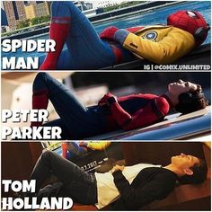 He played such a great Peter Parker!