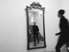 Mirrors as doorways