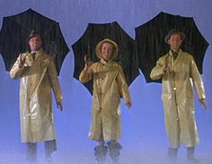 Singin' in the Rain. Starring Gene Kelly, Donald O'Conner, and Debbie Reynolds. Debbie is the mother of Carrie Fisher, of Star Wars fame.