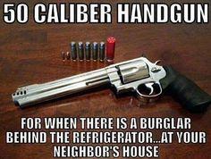 Love it  #revolver #cal50 #burglar #handgun #gun # by sami_ma_