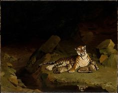 Tiger and Cubs by Gerome