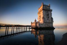 Torre de Belém in #Lissabon #Lisbon #Portugal