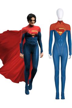 This The Flash 2022 Supergirl Cosplay Costume is a jumpsuit with soles. It is made of roma cloth and PU leather. Well made and screen accurate design. Welcome to buy it with free shipping for your parties, Halloween and so on. Contact us Takerlama@gmail.com Superhero Cosplay, For Your Party, The Flash, Supergirl, Cosplay Costumes, Pu Leather, Jumpsuit, Parties, Clothes