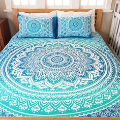 Indian-Duvet-Doona-Cover-Comforter-Mandala-Hippie-Bohemian-Twin-Size-Quilt-Cover