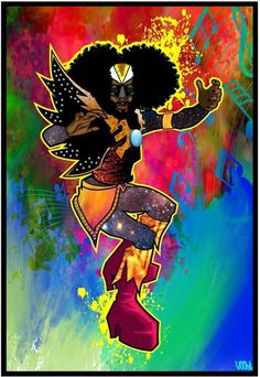 George Clinton, Freelance Graphic Design, Creative Art, Anime, Fictional Characters, Black Art, Cartoon Movies, Anime Music, Fantasy Characters