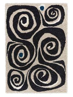 Virvel Hand-Tufted Rug from Splurge Rugs on Gilt