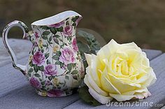 Chintz and Roses Still Life