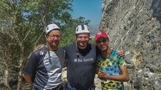 Couldn't have done it without these guys from 'Asez'! If you ever make it to #Zaghouan hit them up and go climbing with them. They were very patient with me and showed me the ropes!  #TunisiaChallenge #DiscoverTunisia