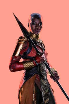 Okoye from Black Panther Black Panther Costume, Black Panther Art, Black Panther Marvel, Black Love Art, Black Is Beautiful, Beautiful Women, Black Panther Chadwick Boseman, Letitia Wright, Marvel Women