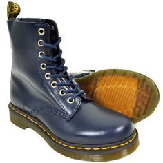 Amazing blue Doc Martins, I was thinking white before, but this way I get my 'Something Blue' and my 'Something New'