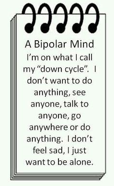 A bipolar mind