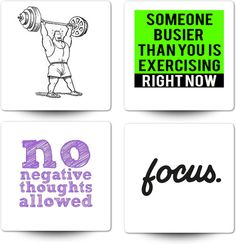 No negative thoughts / Mora on sports, fitness, health and wellness / philippemora.tumblr.com