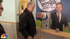 Jimmy Fallon Surprises Fans at Ben & Jerry's