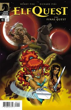 I know Elfquest has been a classic since the late seventies but I never got in to it till now. I'm all about whimsical fantasy so it was impossible not to become completely absorbed with this franchise once reading this issue. Be warned, this issue will lead you to down a road of expedited Amazon orders of all the back issues and elf fan fiction. I think Wendy and Richard Pini knew exactly what they were doing.