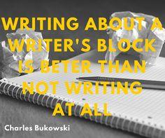 En dat heb ik dus gedaan...:-)  #slimmerschrijven #writersblock