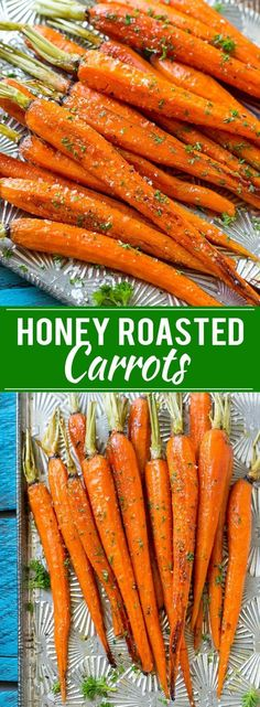 Honey Roasted Carrots Recipe | Roasted Carrots | Roasted Vegetables | Healthy Carrot Recipe