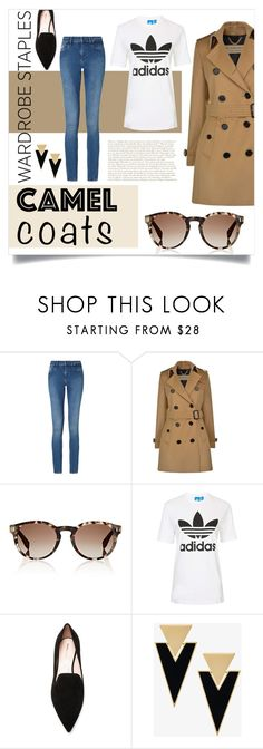 """""""Camel Coat"""" by marce104 ❤ liked on Polyvore featuring Calvin Klein, Burberry, Fendi, Topshop, Nicholas Kirkwood, Yves Saint Laurent, WardrobeStaples and camelcoat"""