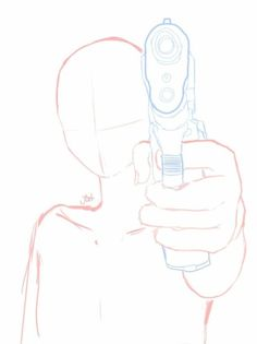 Pull The Trigger! Pose Reference