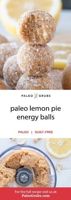 Healthy Protein Snacks, Healthy Desserts, Paleo Protein Balls, Paleo Energy Balls, High Protein, Healthy Food, Protein Cake, Protein Muffins, Protein Bites