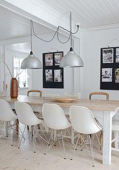 Industrial inexpensive lighting-Anna Truelsen inredningsstylist: Helheten..
