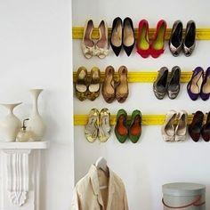 Cute shoe rack!