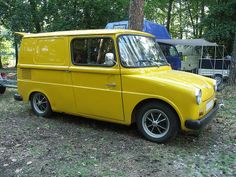 VW Fridolin, the German equivalent of the US Mail jeep. Would love to find one of these