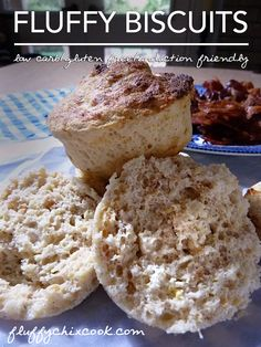 Induction Friendly Fluffy Biscuits from Fluffy Chix Cook. Serious breakfast yum.