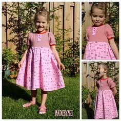 Mama Nähblog: Freebook Prinzessinnenkleid Kleid 80-164