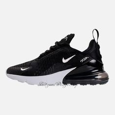 Swarovski Bling Nike Women s Air Max 270 Shoes with Crystal Rhinestones  Custom Running Tennis Shoes Authentic New in Box Bling Nike Shoes e25d81b6869f