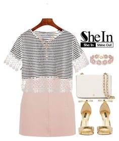 """""""SheIn contest"""" by hungry-unicorn ❤ liked on Polyvore featuring Topshop, Dolce&Gabbana, Tory Burch and BaubleBar"""