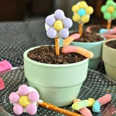 An adorable and delicious treat perfect for Mother's Day, parties. or just because! Recipes included!