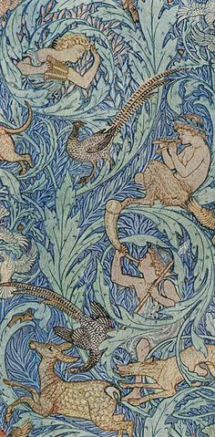 Walter Crane was a prolific illustrator of children's books and a painter, decorative designer and theorist on art and on society. He was a central figure in the aesthetic and the Arts and Crafts movements.