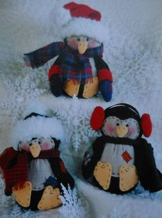 Holiday Penguins Sewing Pattern