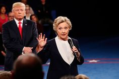 Hillary Clinton recalls that famous debate moment: Donald Trump was looming behind me