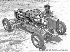 Cars race antique midget tin